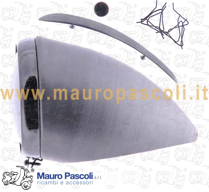 Front lamp, assy