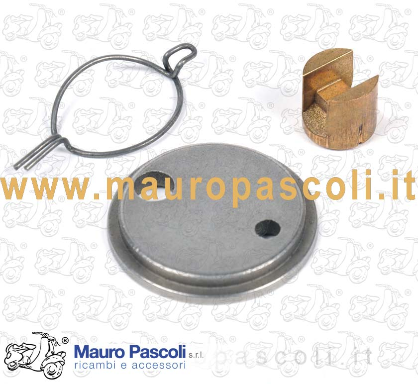 Kit Spring, pressure plate and actuating pad