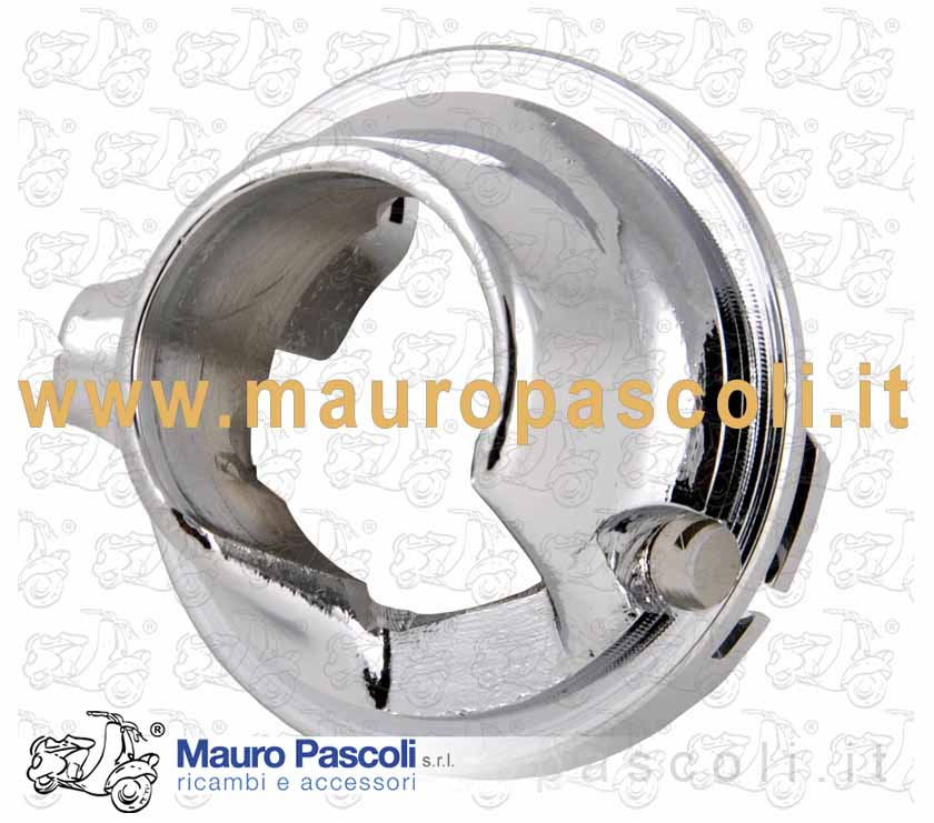 Aluminum flange chrome plated