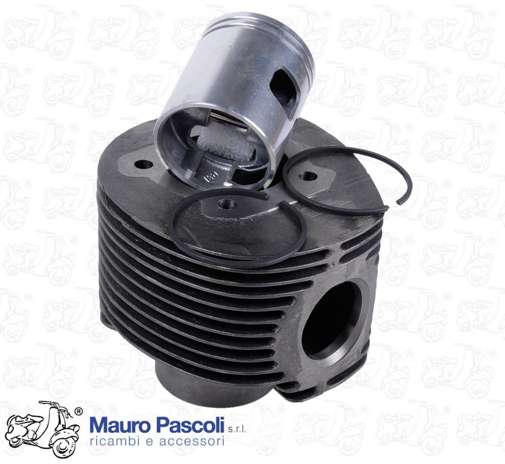 COMPLETE CYLINDER GROUP WITH PISTON AND PIN. ORIGINAL PIAGGIO.