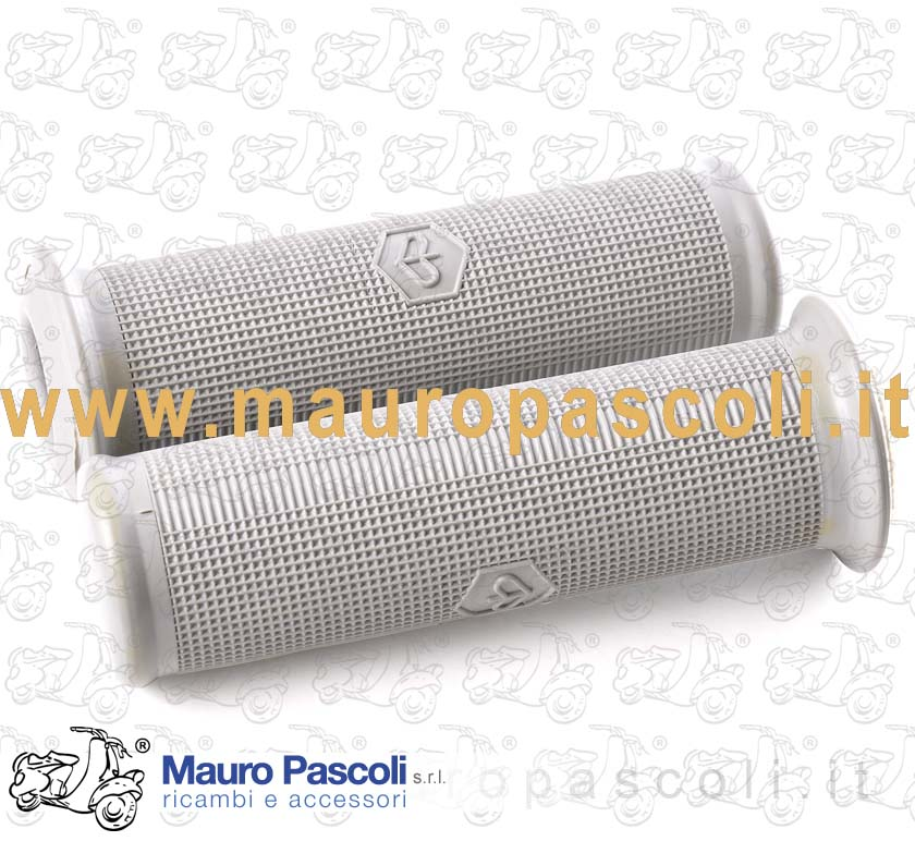 Pair of handlebar grips. Piaggio design and logo