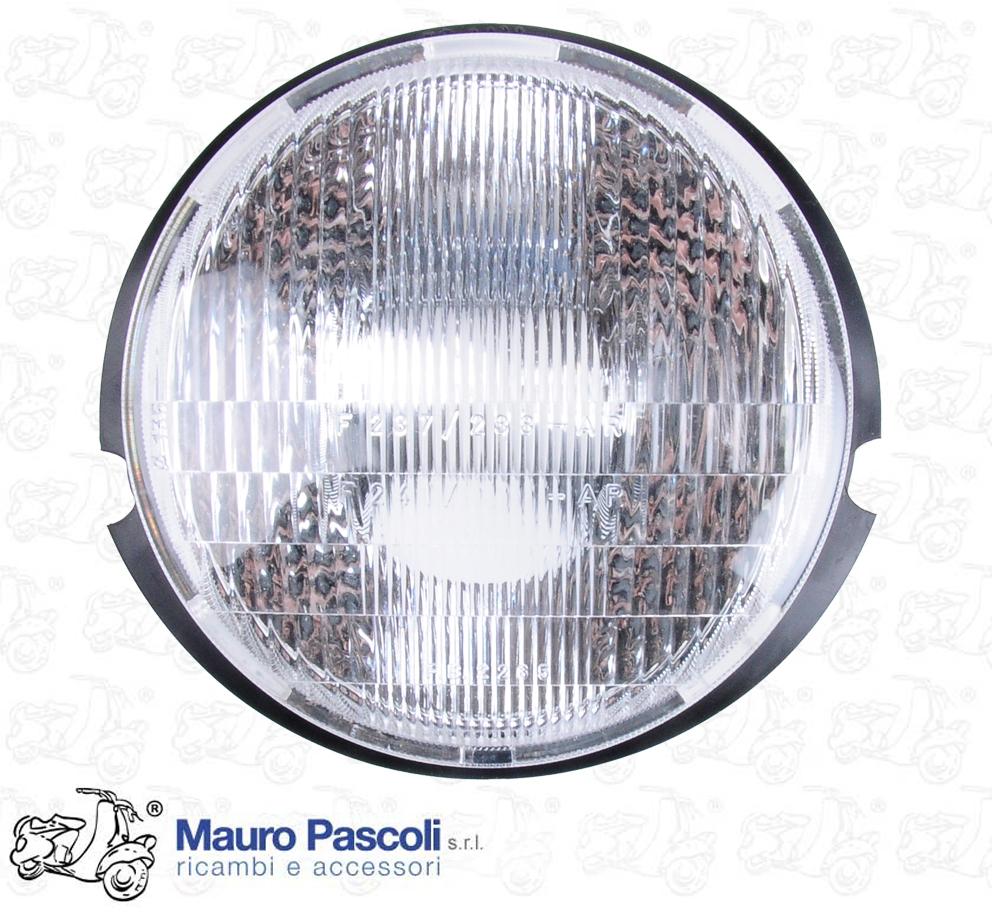 Vespa 50 R L Gruppo Ottico Faro Anteriore Tondo Illuminazione Auto E Moto