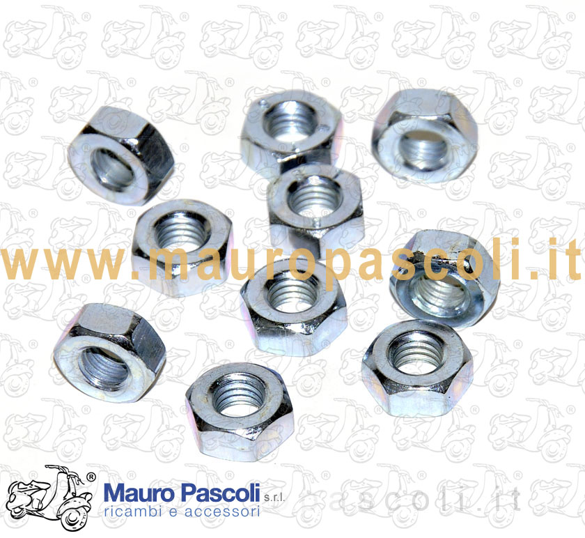 Wheel rim assembling nut
