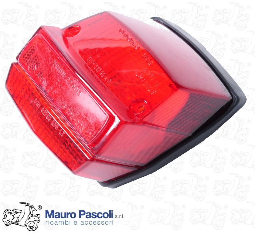 Rear light reflector with reflector Triom