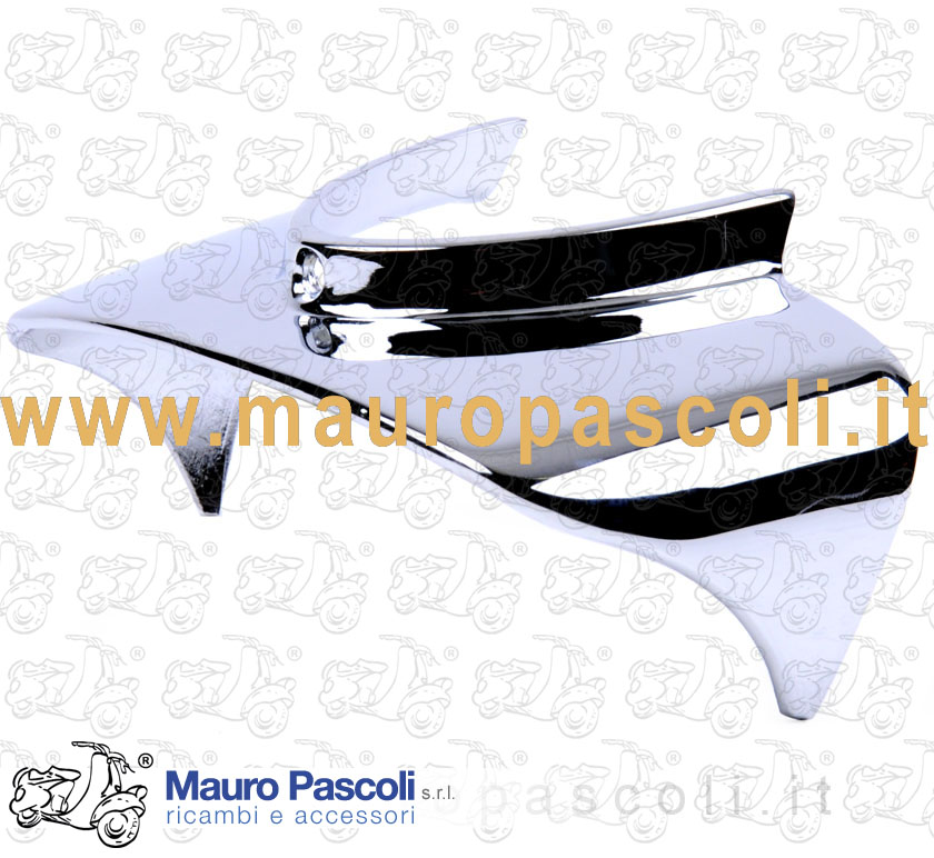Headlamp Peak for rear headlamp chrome