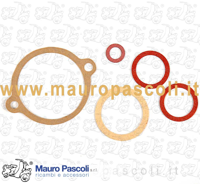 Set of gaskets for carburettor overhauling