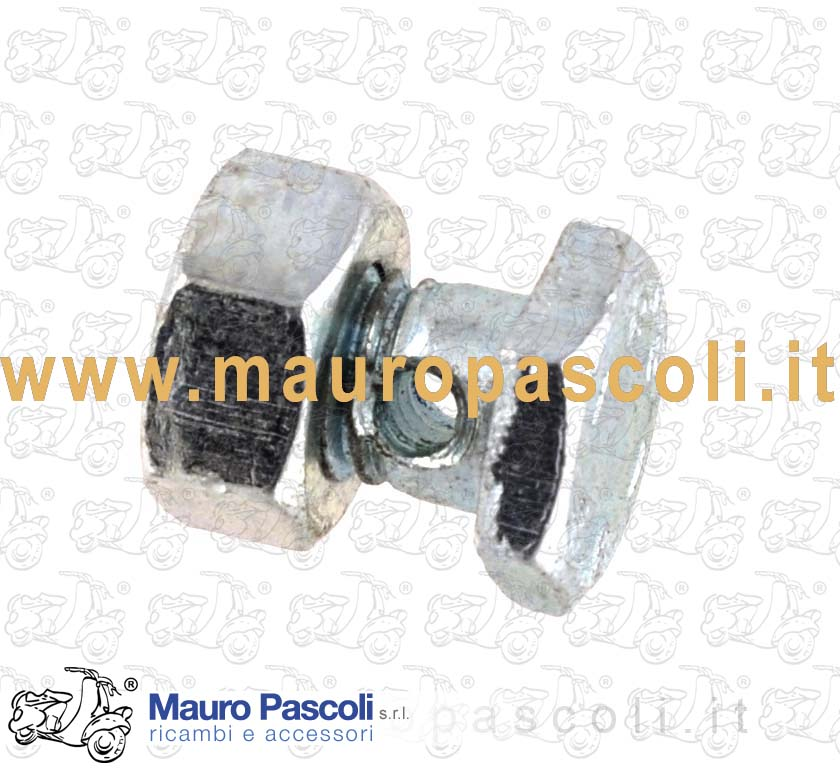 Cable screw nipple for brake