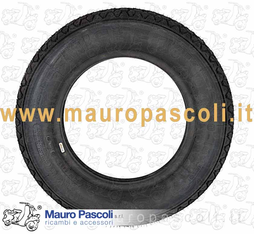 Tyre measure 3 - 50 - 10 type  S83. M/C 59 J .REINF. MICHELIN