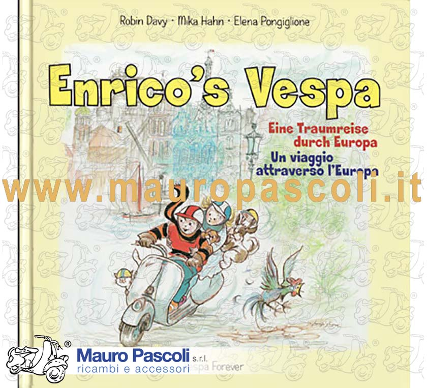 Edition in Italian and German. Is a book for children, to have fun with all the family, at the and of the book there is also a special game and a bricolage, for have fun all together - It is a good gift idea for all the family.