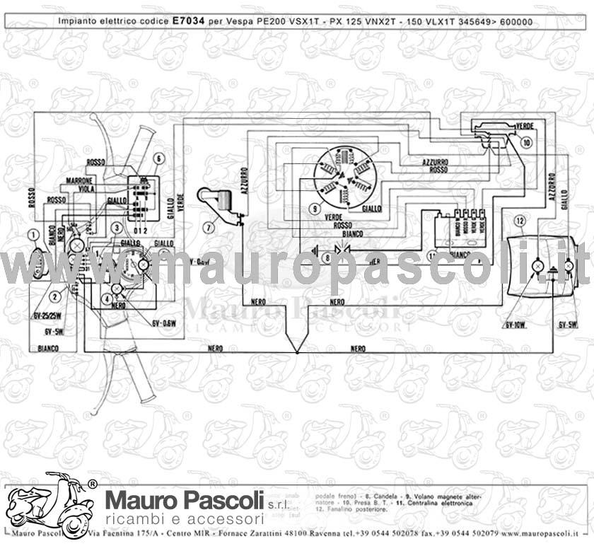 Schema Elettrico Ape 50 Monofaro : Catalogo mauro pascoli