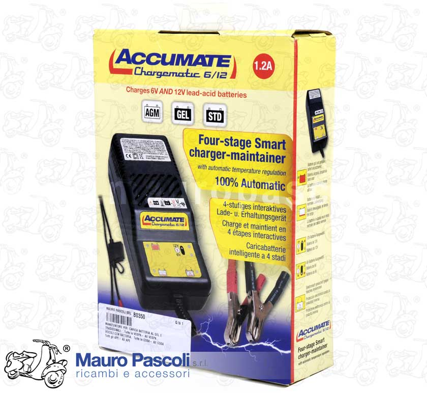 ACCUMATE Multi Stage Interactive Charger Maintainer