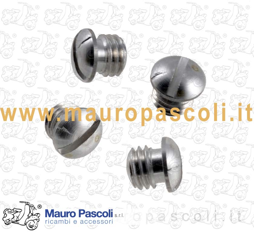 Kit 4 screws Aluminium