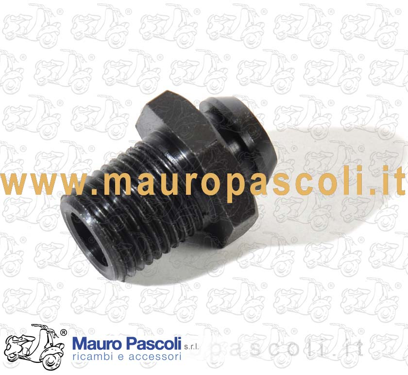 Screw with collar, with output cables Flywheel