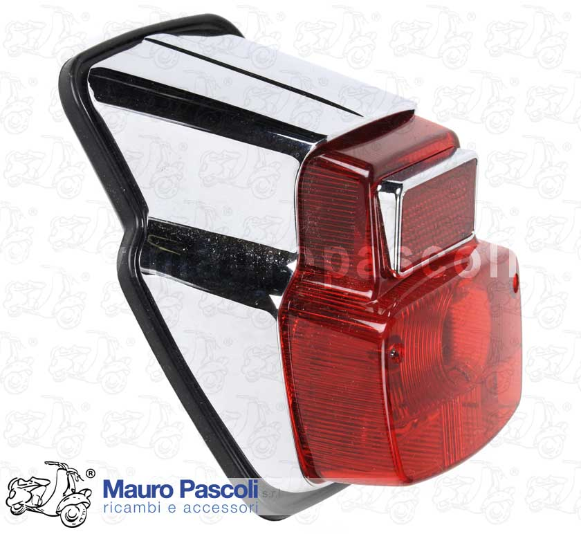 Rear Light plated metal