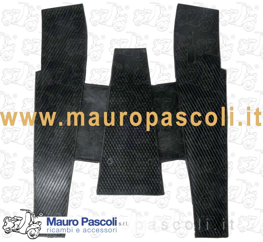 Carpet mat black for Vespa -COSA-