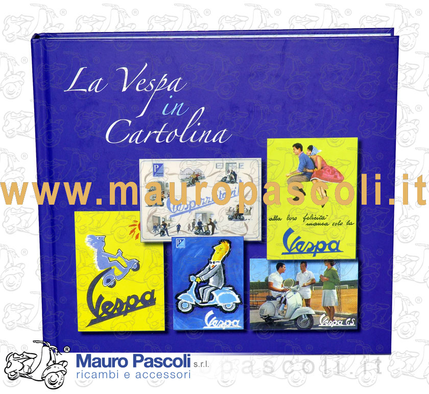 Vespa in Postcard