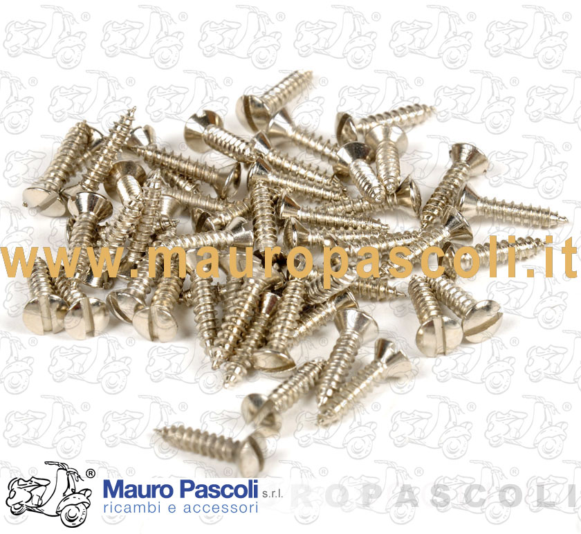 Kit No. 50 self-tapping screws for terminals nickel-cut platform