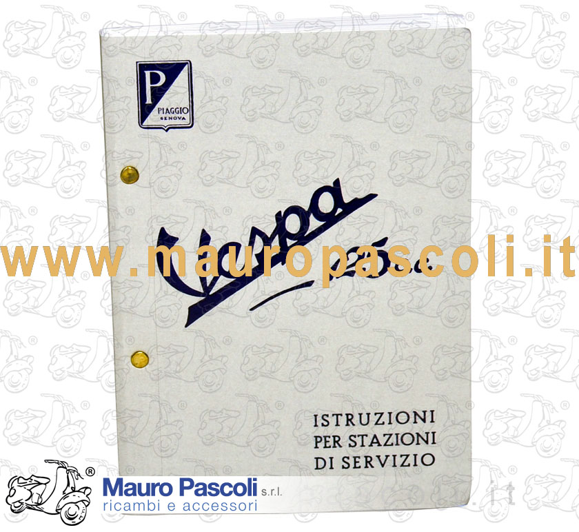 MANUAL FOR SERVICE STATION PIAGGIO
