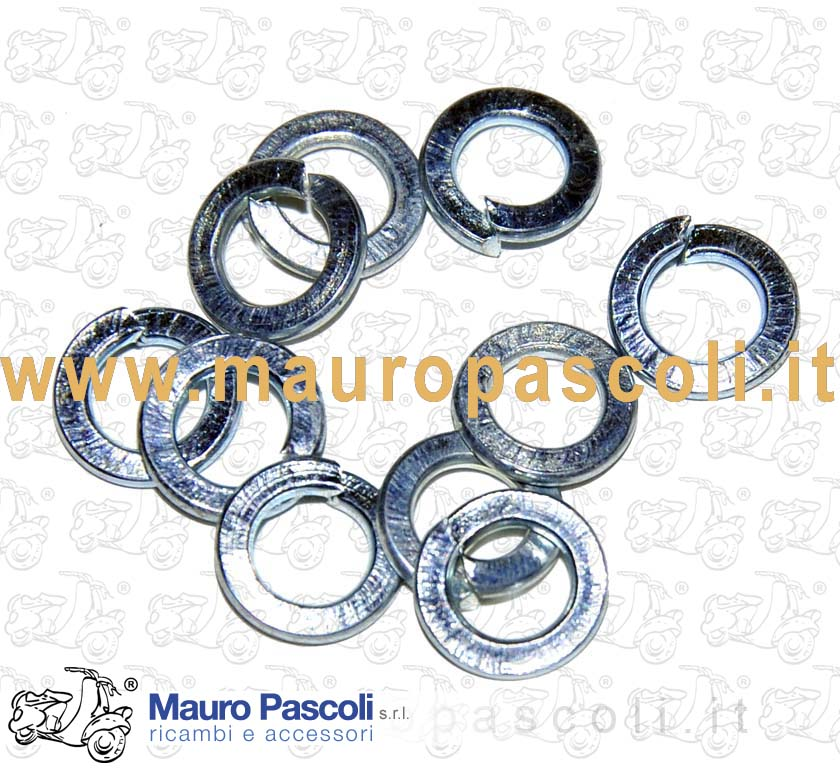 Kit 10 galvanized washers (5mm internal diameter)