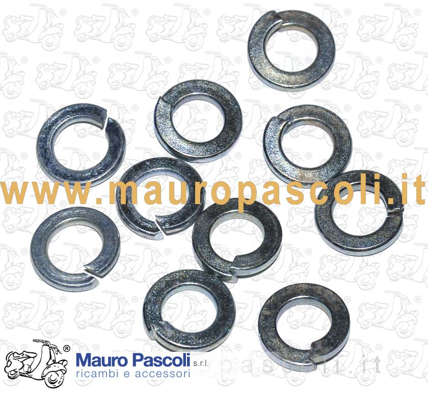 KIT 10 WASHER GROWER MM 8 INTERNAL AND MM 14 MM.ESTERNO