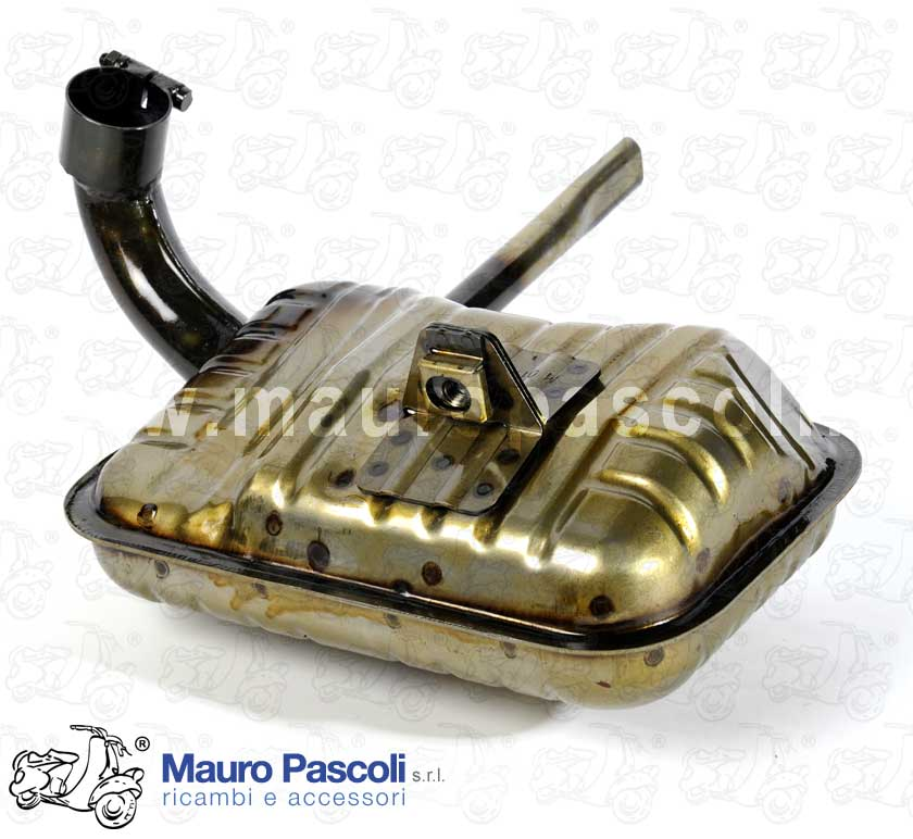 Exhaust (Production Mauro Pascoli Srl) - VESPA GS 160 VSB1T