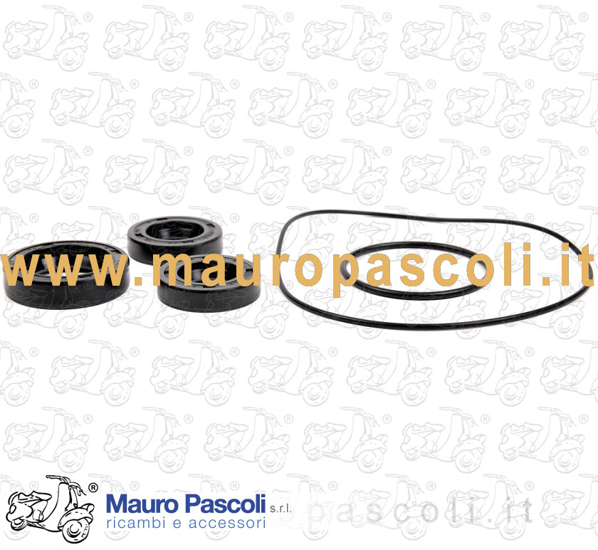 Engine oil seal set