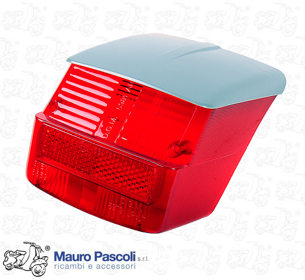 TRANSPARENT REAR LIGHT WITH SIEM CAT.