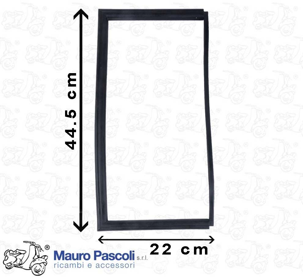 GASKET N 1 FIXED GLASS DOOR DOOR APE - FOR SIDE: RIGHT - LEFT.