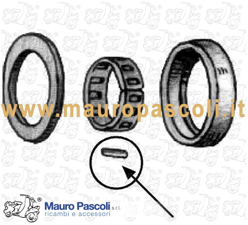 Kit roller (drive shaft bearing)